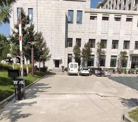 延安市枣园宾馆车牌识别